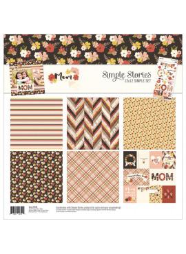 Mom 12 x 12 simple set