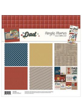 Dad - 12x12 simple set