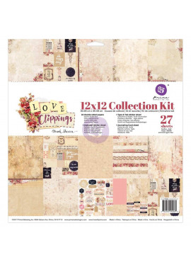Love Clippings 12x12 collection kit