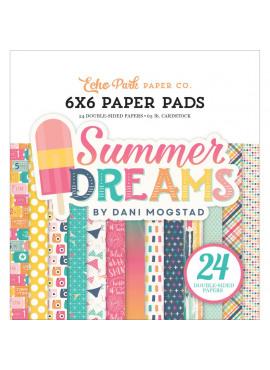 Summer dreams 6x6 paper pad