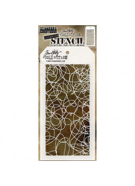 Tim Holtz collection doodle layering stencil
