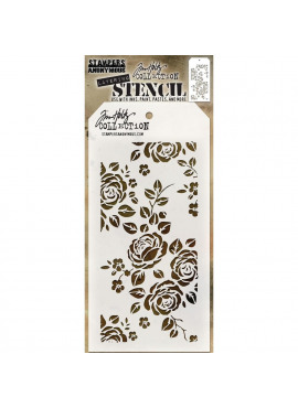 Tim Holtz collection - Layering Stencil - roses