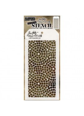 Tim Holtz collection - Layering Stencil Mosaic