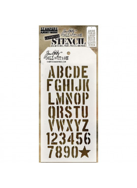 Tim Holtz collection - crate layering stencil