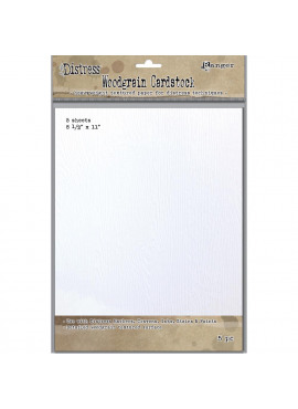 Distress Woodgrain Paper 5 Sheets 8.5