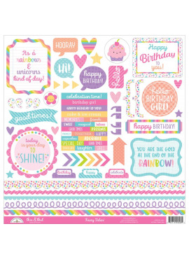 Fairy Tales Cardstock Stickers 12