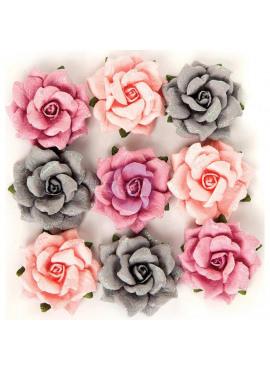 Rose Quartz flowers