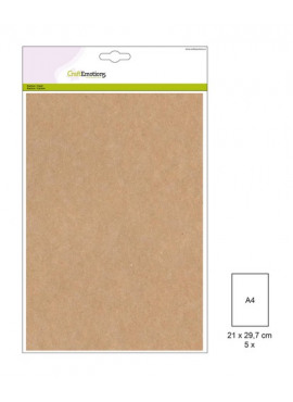 Karton kraft bruin