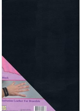 Imitation leather black
