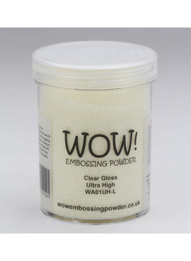 Embossing powder clear Gloss Ultra High