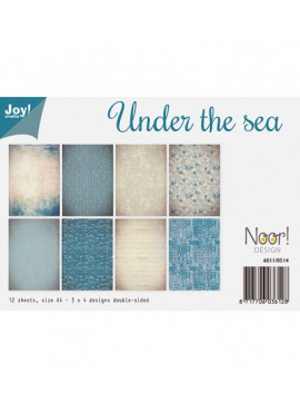 Under the sea papier set A4