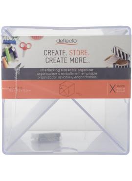 X cube divider - interlocking stackable organizer
