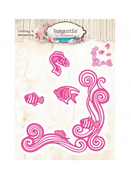 Romantic Summer cutting & embossing 09