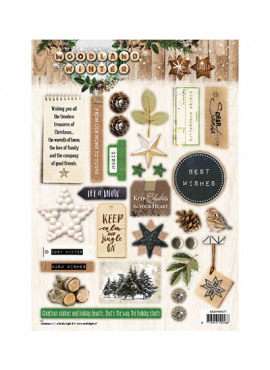 Woodland winter Labels 577