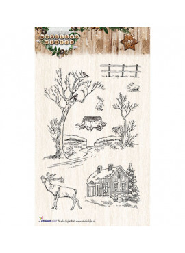 Woodland winter Stamps 192