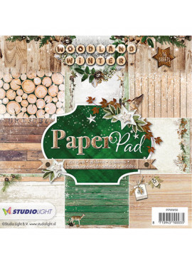 Woodland winter Paper pad 56