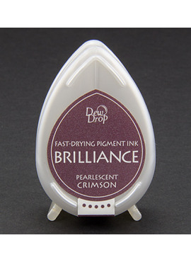 Brilliance Dew Drop Pearlescent Crimson
