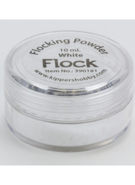 Flocking powder White 10ml