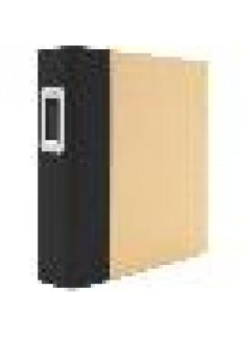 6x8 binder Black