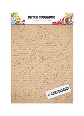 Dutch Cardboard Art Arrows