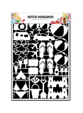 Dutch paper art A5 Holiday