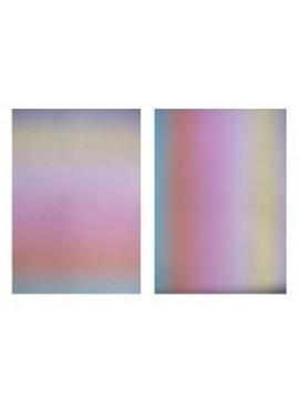 Parchment Paper Rainbow Pastel