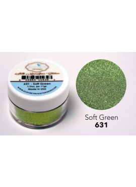 Silk Microfine glitter Soft Green
