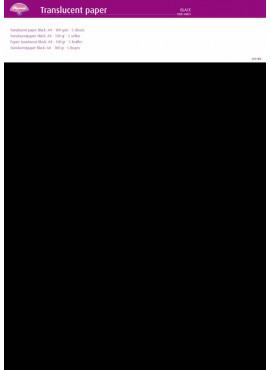 Translucent Paper Black