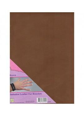 Imitation Leather Brown
