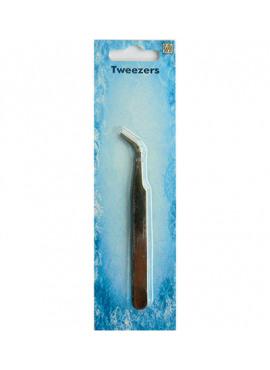 Tweezers curved point