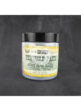 Texture paste Antique silver crackle
