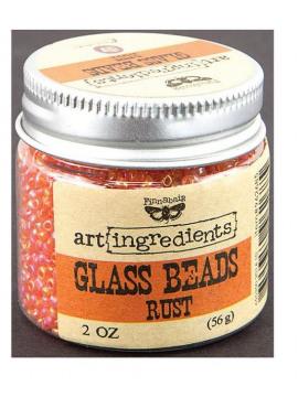 Prima Glass beads - Rust