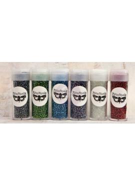 Glass beads set