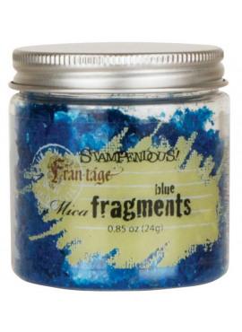 Mica Fragments Blue