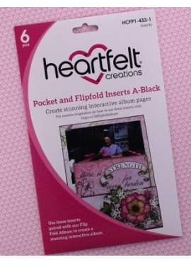 Pocket and Flipfold Insert A - Black