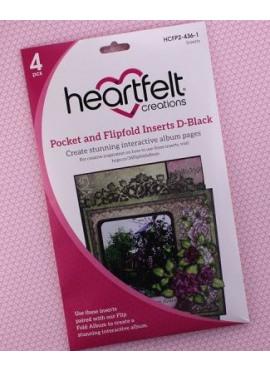 Pocket and Flipfold Inserts D - Black