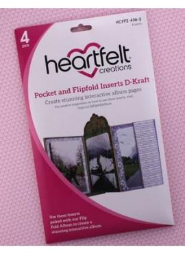 Pocket and Flipfold Inserts D - Kraft
