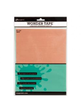 Wondertape - double-sides, heat-resistant clear tape
