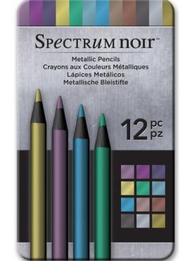Metallic pencils 12pc