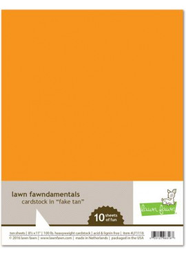 Cardstock in Fake tan