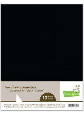 Cardstock in Black Licorice