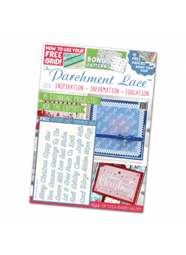 Parchment lace Christmas issue 2017