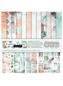 7 Dots Studio - Cotton Candy Dreams - Collection Kit
