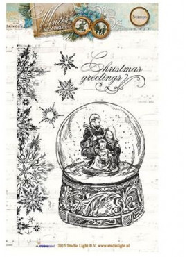 Clear Stamps - Winter Memories 116