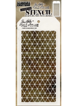 Tim Holtz collection - Layering Stencil - Diamonds