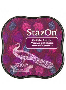 StazOn Gothic Puple Midi Solvent Ink Pad