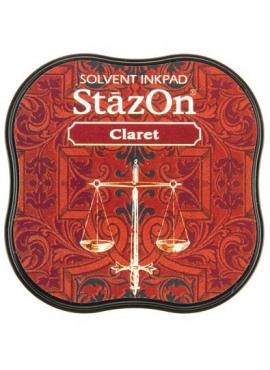 StazOn Claret Midi Solvent Ink Pad