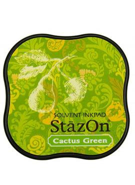 StazOn Cactus Green Midi Solvent Ink Pad