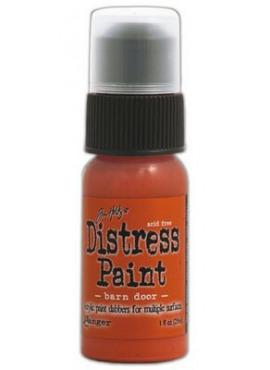 Distress Paint Barn door