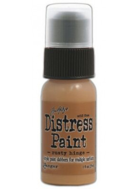Distress Paint Rusty hinge